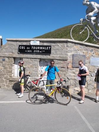 21e fois que je grimpe le col du Tourmalet