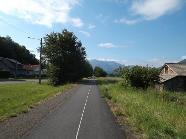 Retour sur la voie verte à Pierrefitte