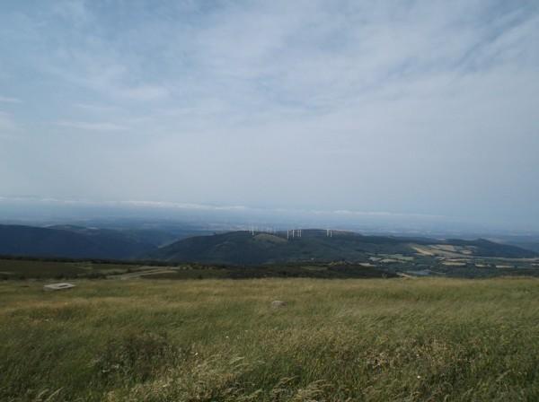 Panorama superbe vers l'Aude