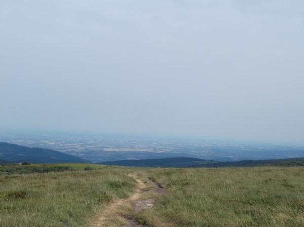 Vue sur la plaine tarnaise