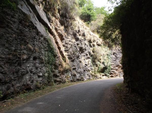 Murs de roche