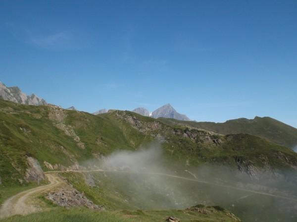 Le Mont Valier derrière.