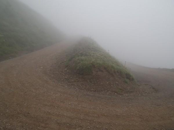 De nouveau dans le brouillard...