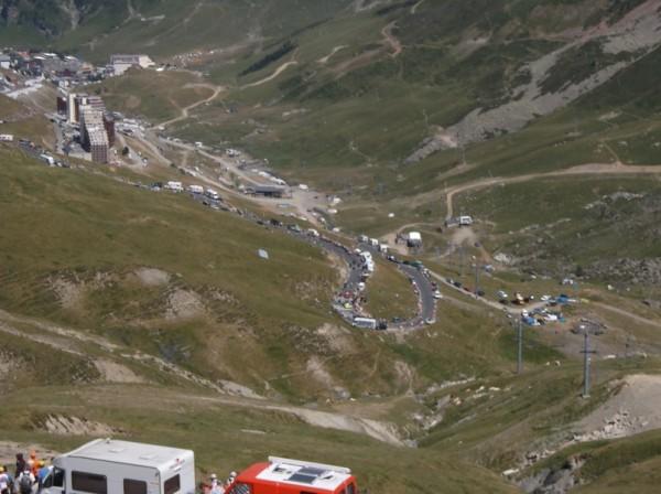 Majka au virage à 2 km du sommet.