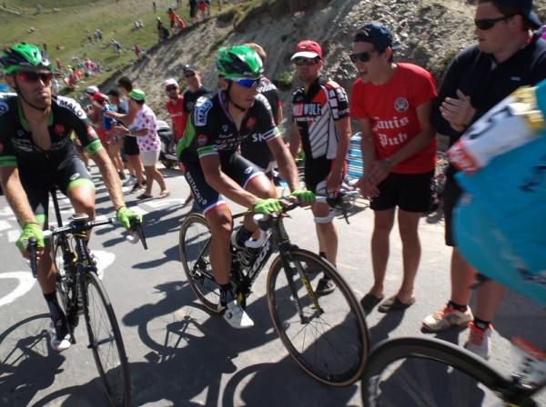 Fédrigo qui a déjà gagné des étapes passant par le Tourmalet.