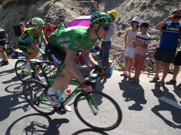 Greipel qui perdra son maillot vert face à Sagan.