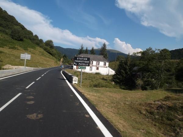L'entrée sur le plateau de Payolle.