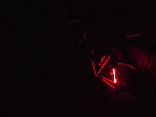 Nuit noire au moment de partir pour la gare de Tarbes.