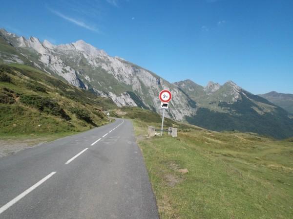 C'est parti, direction l'Aubisque et la route en corniche !