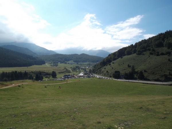 Payolle, dans la descente du col d'Aspin.
