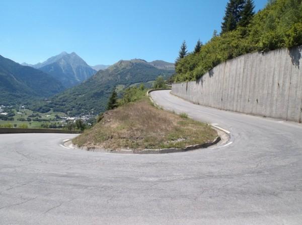 C'est à la sortie de ce lacet que Poulidor avait attaqué.