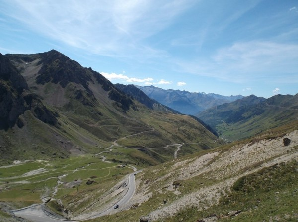 Vue depuis le sommet côté Barèges.