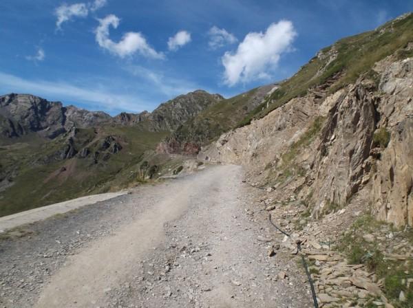 C'est parti sur la piste en direction du Pic du Midi.