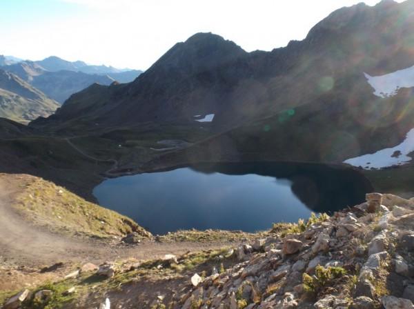 Le lac d'Oncet.