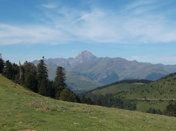 Superbe vue sur le Pic du Midi comme d'hab'.