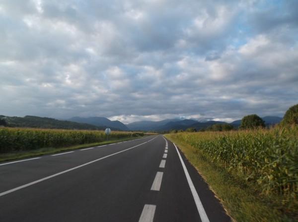 En direction de Bagnères, je me rapproche de la zone nuageuse petit à petit.