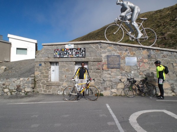 C'est la 24e fois que je grimpe le col du Tourmalet !
