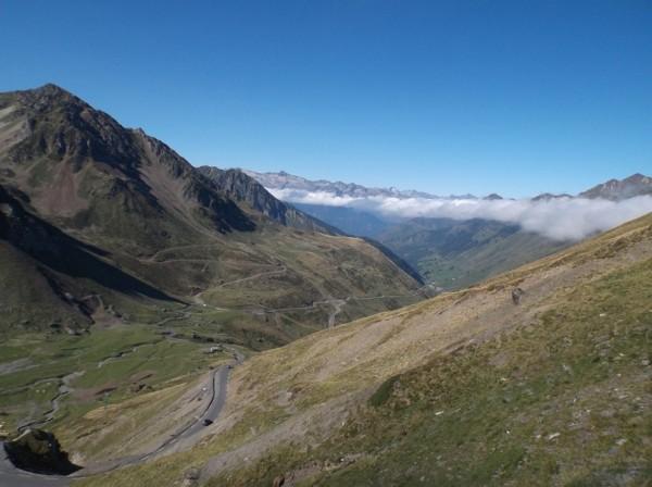 Vue depuis le sommet, côté Barèges.