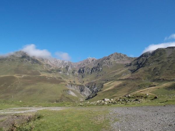 Le Pic du Midi qui parait si proche et pourtant...
