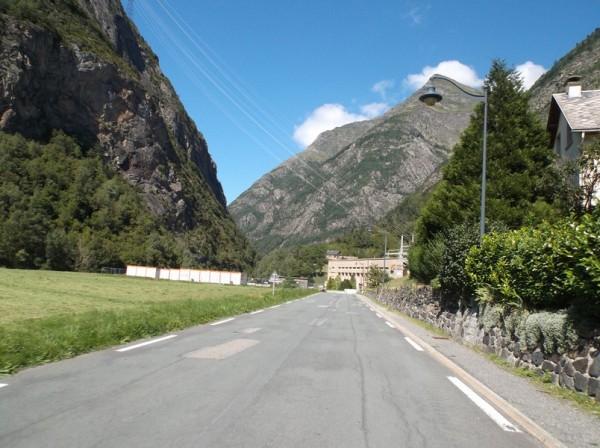 Pragnères et sa centrale hydroélectrique.
