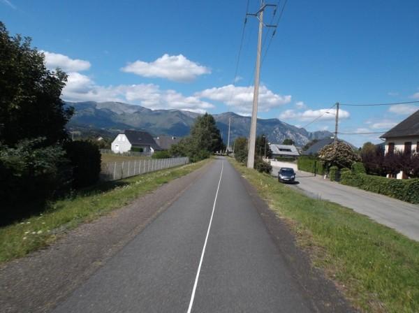 Sur la voie verte entre Pierrefitte et Lourdes.