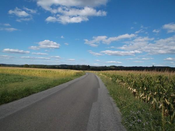 Dans les 3 derniers kilomètres.