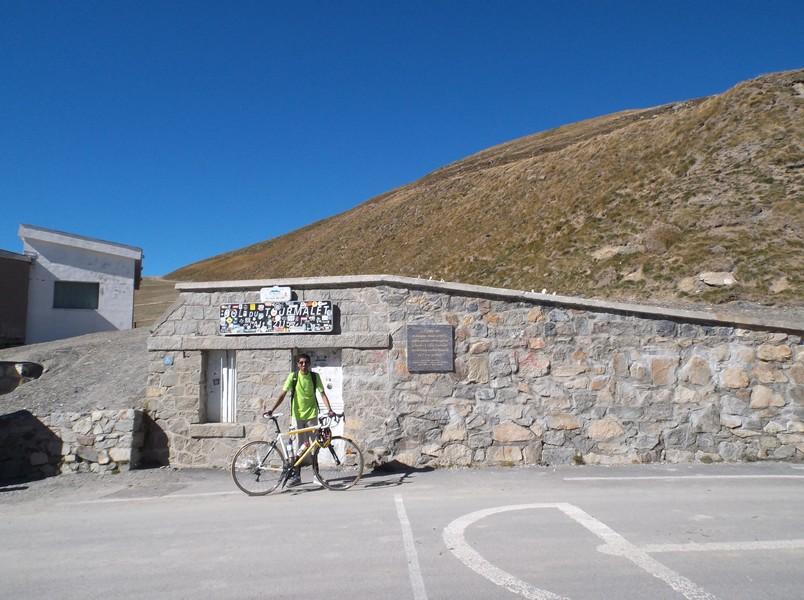 25e fois que je grimpe le col du Tourmalet !