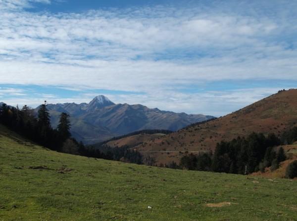 Vue sur le Pic du Midi, superbe !