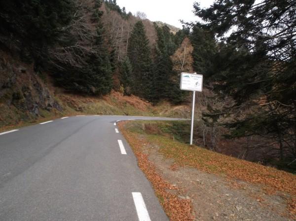 A l'amorce du dernier kilomètre de l'ascension.