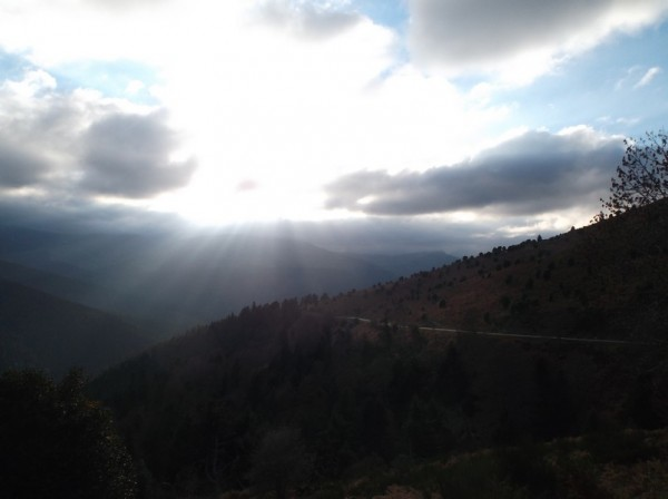 Malgré les nuages, les effets de lumière sont sympas.