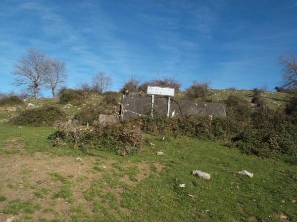 Col de Leccharia (832m), la rampe la plus difficile est faite.