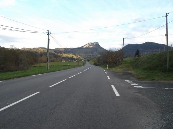 En direction d'Oloron Sainte Marie.