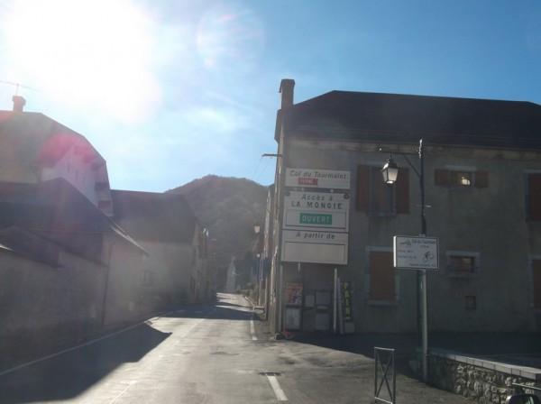 Le col du Tourmalet est fermé maintenant...