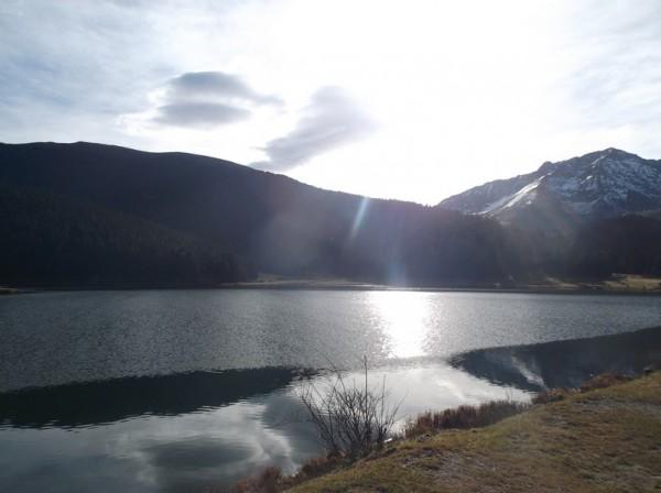 Le lac de Payolle.