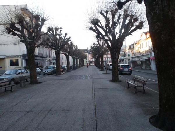 A Bagnères sur les Coustous, en attendant Romuald.