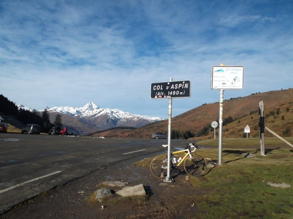 59e ascension du col d'Aspin !