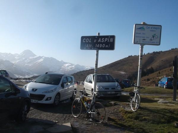 61e ascension du col d'Aspin, pas celui qui me laissera le plus grand souvenir, dommage car le paysage est superbe...
