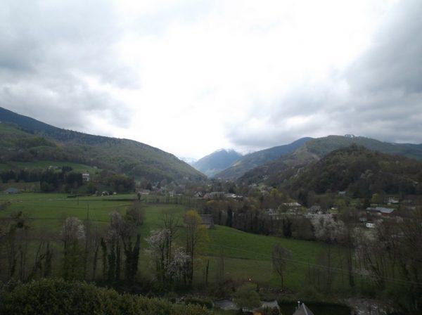 Le Montaigu dans les nuages.