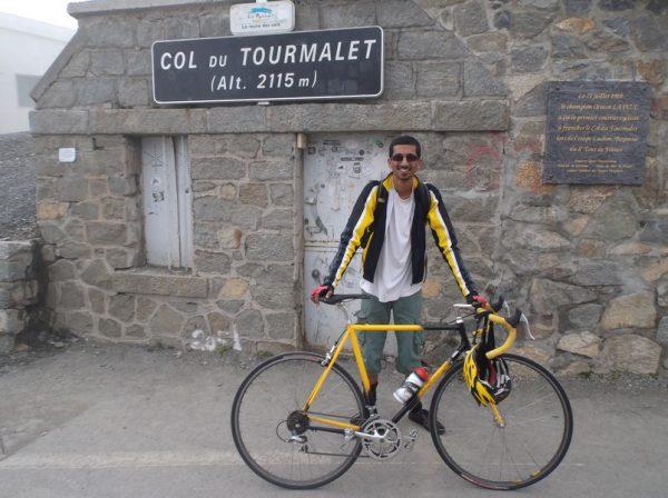 Au sommet, 29e fois que je grimpe le col du Tourmalet. 42x24 ce coup-ci !