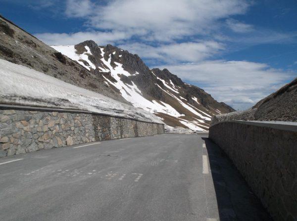Le sommet du col du Tourmalet.