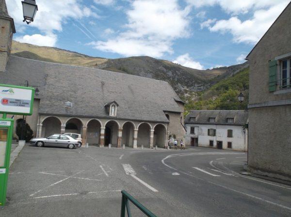 Sainte Marie de Campan, fin de la descente.