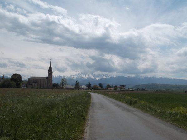 Petit regard en arrière sur les Pyrénées.