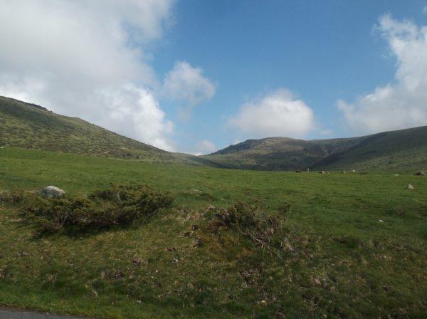 Le sommet est en vue à 2 km du sommet.