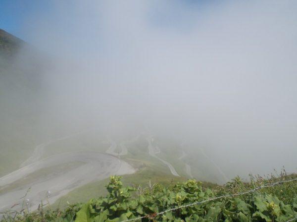 Passage du nuage.