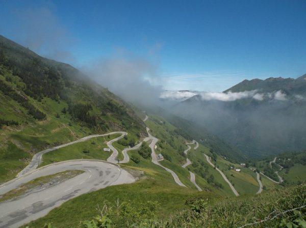 Une fois le nuage passé, la superbe vue sur les 4 derniers km, ça tourne !