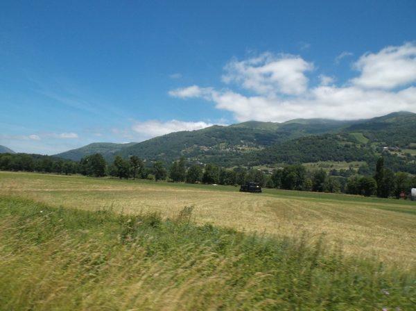 Le massif du Hautacam.
