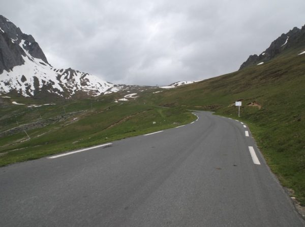 A 3 km du sommet.