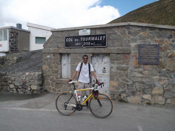 30e fois que je grimpe le col du Tourmalet.