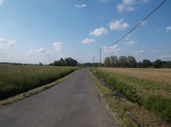 Dans les derniers kilomètres.