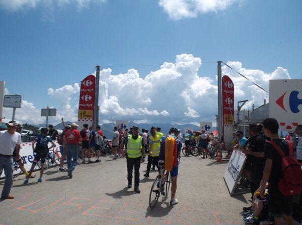 Le sommet du col d'Aspin.